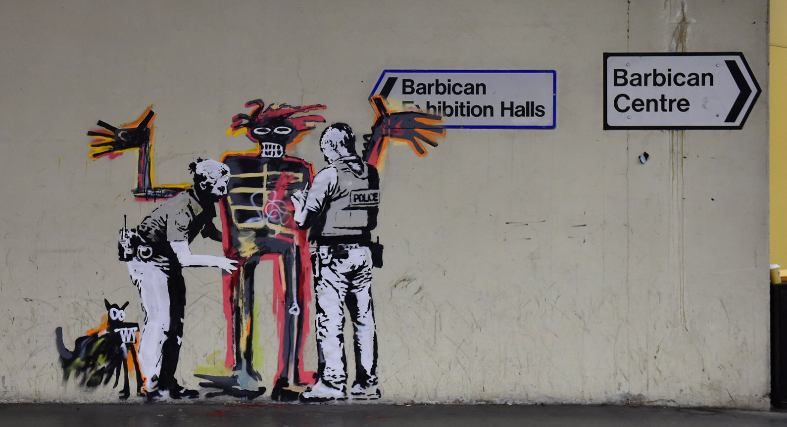 How Banksy saves Basquiat
