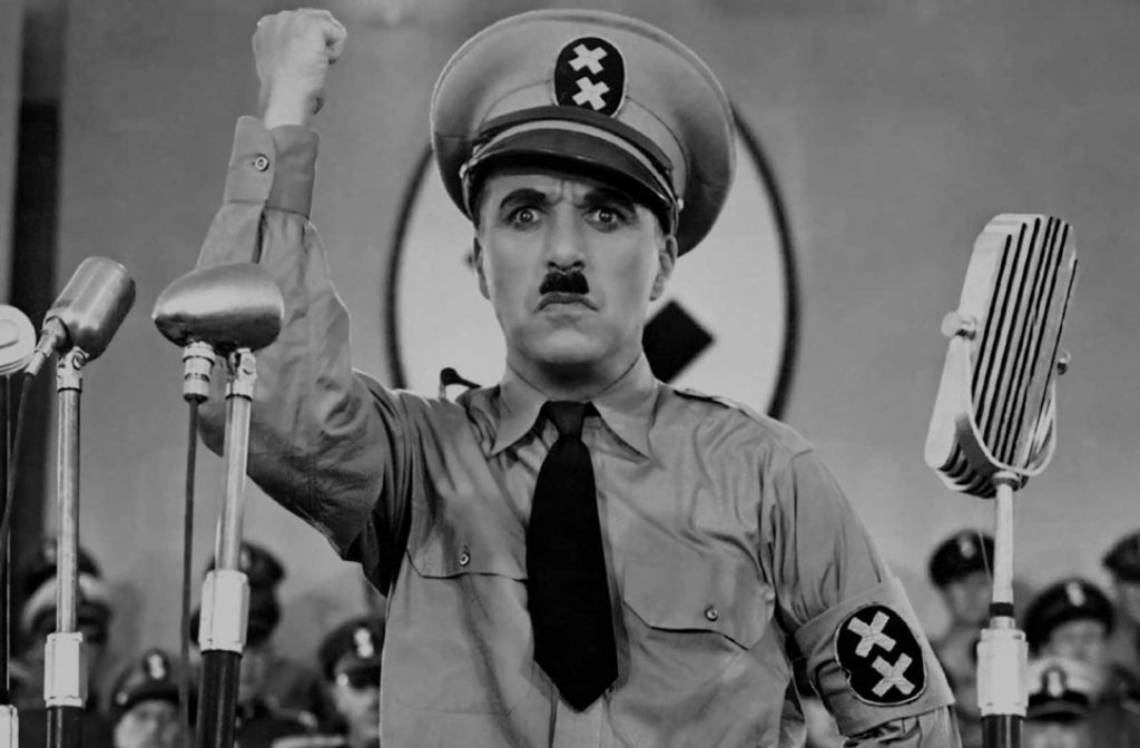 Still from The Dictator - Charlie Chaplin